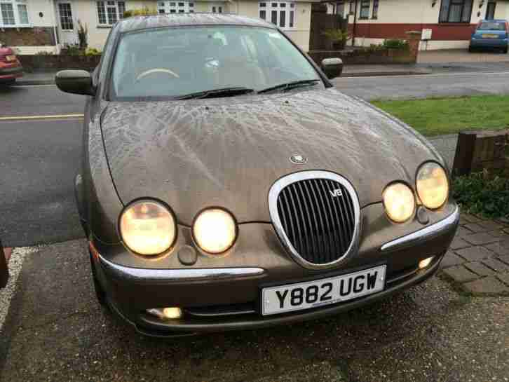 2001 JAGUAR S-TYPE V8 AUTO BRONZE