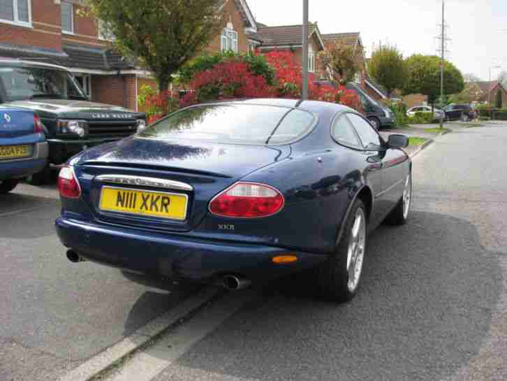 jaguar xkr coupe auto blue car for steering control safety airbag