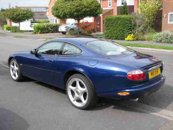 jaguar 2001 xkr coupe auto blue car for sale. Black Bedroom Furniture Sets. Home Design Ideas
