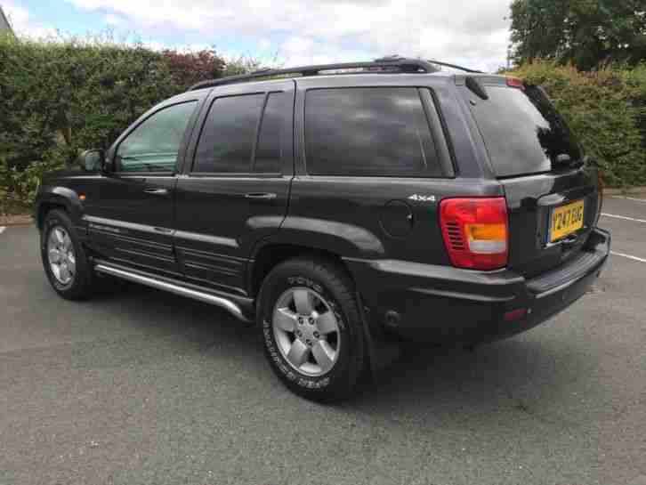 2001 JEEP GRAND CHEROKEE LIMITED 4.0 LPG - MOT 06/19 AUTOMATIC BLACK LEATHER