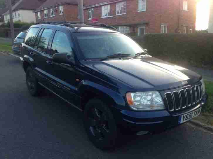 2001 JEEP GRAND CHEROKEE LIMITED 4.7 V8 BLUE
