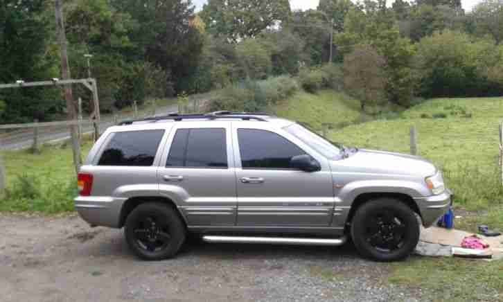 Jeep 2001 Grand Cherokee Limited Silver For Spares Or