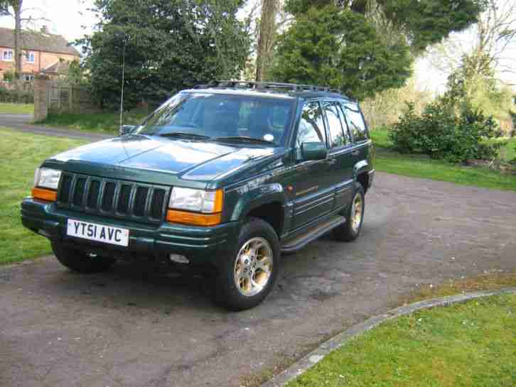 2001 GRAND CHEROKEE LPG PETROL GREEN