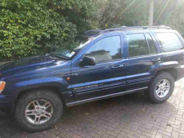 2001 JEEP GRAND CHEROKEE V8. 2nd Owner. Low Miles. SS exhaust. Off Road Tyres