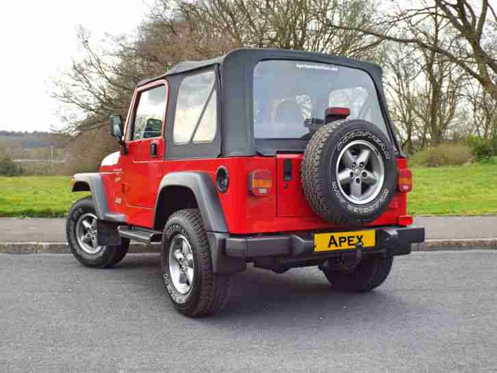 2001 JEEP WRANGLER SPORT RED *** LIFT KIT ** NICE EXAMPLE ***