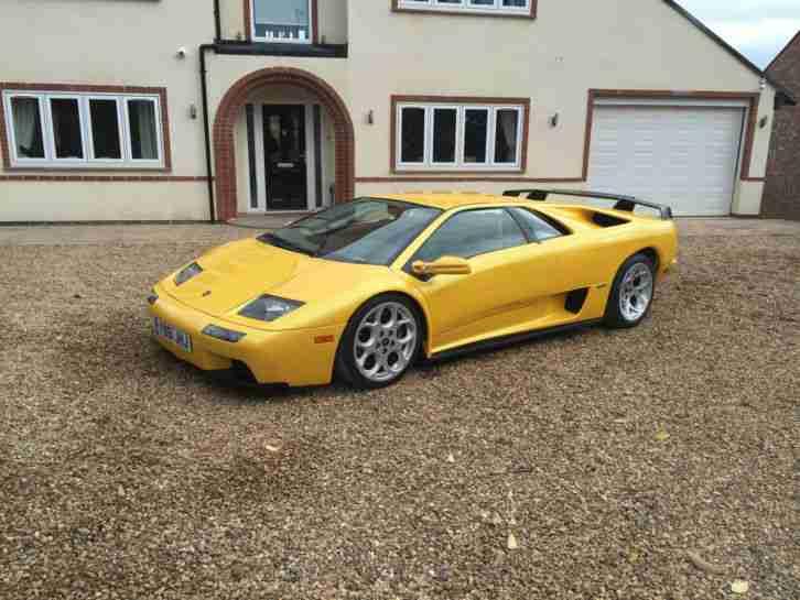 Lamborghini 2001 Diablo 6 0 Vt Final Edition Very Low Miles Car For