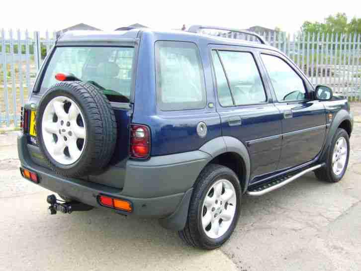 2001 land rover freelander td4 es blue car for sale. Black Bedroom Furniture Sets. Home Design Ideas