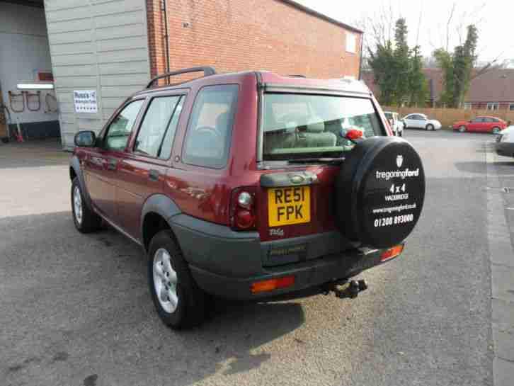 2001 land rover freelander td4 gs red car for sale. Black Bedroom Furniture Sets. Home Design Ideas
