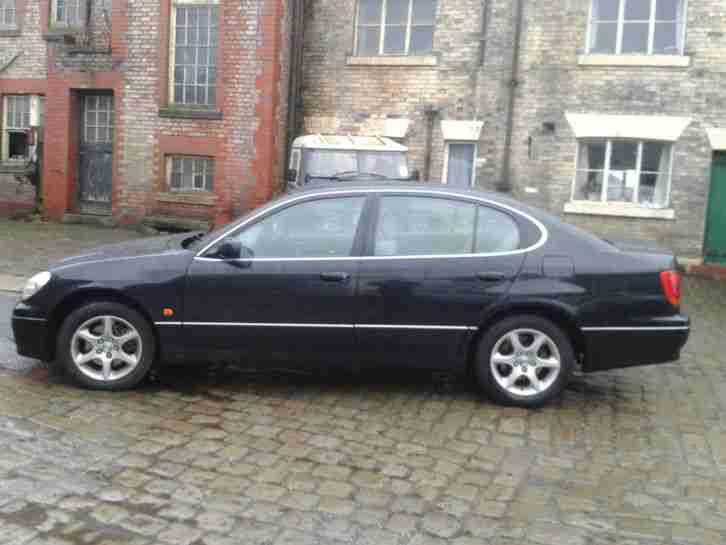 lexus 2001 gs300 auto black car for sale. Black Bedroom Furniture Sets. Home Design Ideas