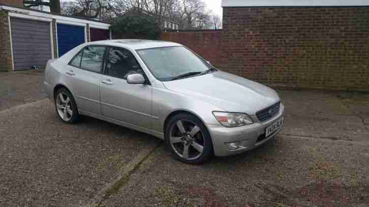 2001 LEXUS IS200 SE MANUAL
