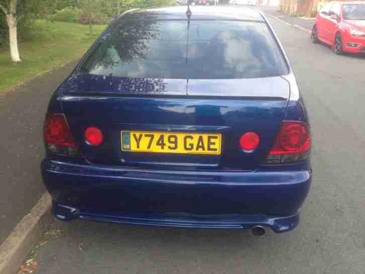 Cheap Car Payments >> Lexus 2001 IS200 SPORT BLUE. car for sale