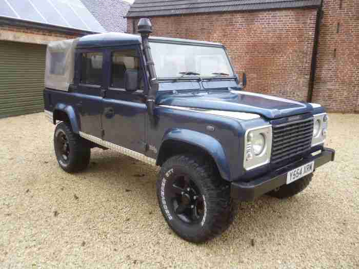 2001 Land Rover Defender 110 Td5 County Double Cab. car ...