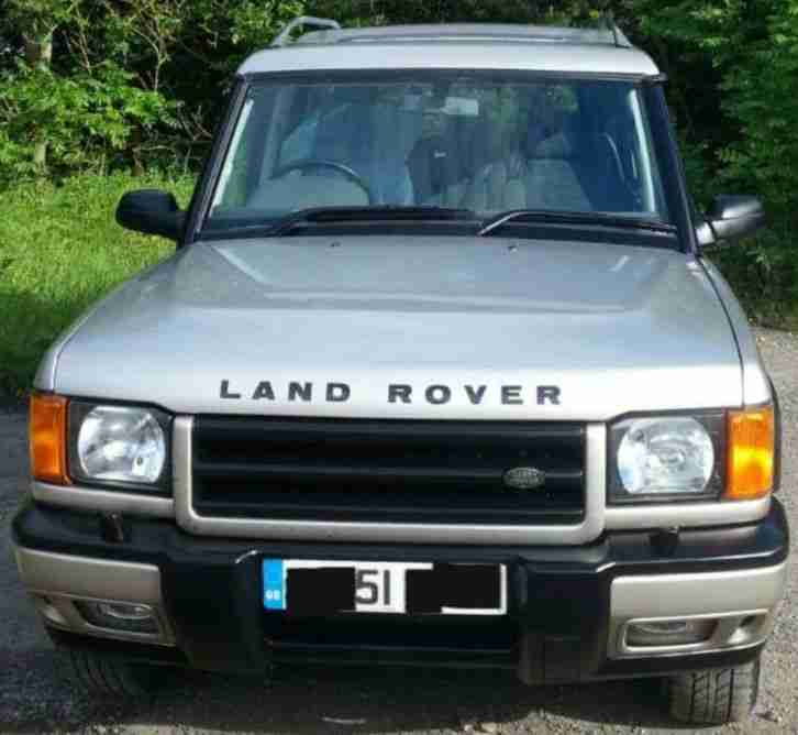 2001 Land Rover Discovery TD5 GS 7seat