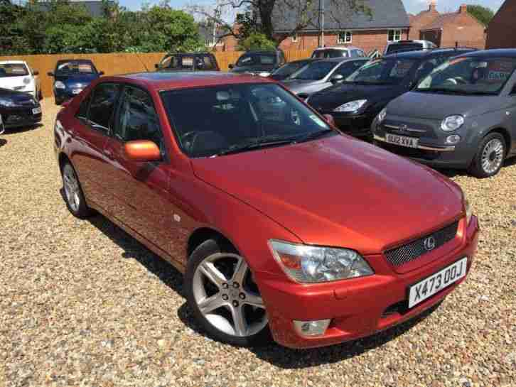 2001 Lexus IS 200 2.0 Sport 4dr