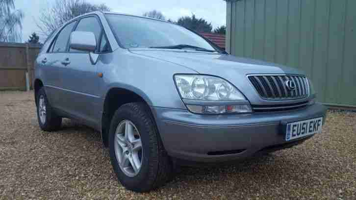2001 RX300 SE Automatic Grey F S H 12