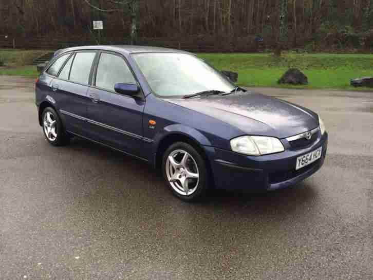 2001 MAZDA 323F 1.5 LXI 5DR ONLY 99K BRILL CONDITION EXCELLENT RUNNER