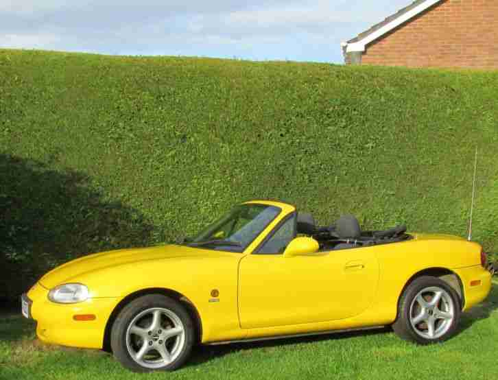 2001 MAZDA MX-5,MX5 MX 5 MK2 RARE 'CALIFORNIA' LTD EDITION 1 OF 500 LOOK!!!