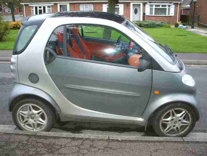 smart 2001 mcc pulse auto lhd grey spares or repair car. Black Bedroom Furniture Sets. Home Design Ideas