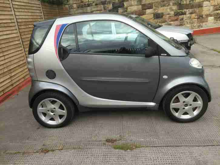 2001 MCC SMART PULSE AUTO (LHD) SILVER SPARES OR REPAIRS RUNS AND DRIVES EXPORT