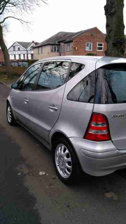 MERCEDES A140. Mercedes-Benz car from United Kingdom