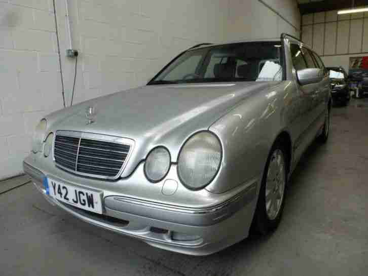 Mercedes benz 2001 e class e320 cdi elegance 5dr tip auto for 2001 mercedes benz e320 for sale