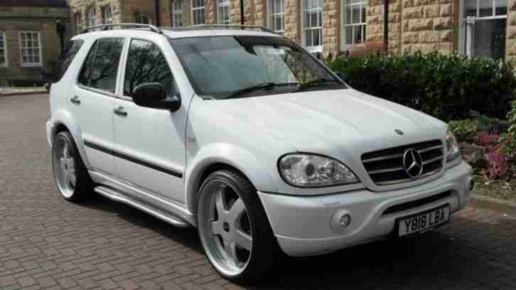 Mercedes benz 2001 m class 5 4 ml55 amg 5d auto 347 bhp for Mercedes benz ml 350 for sale