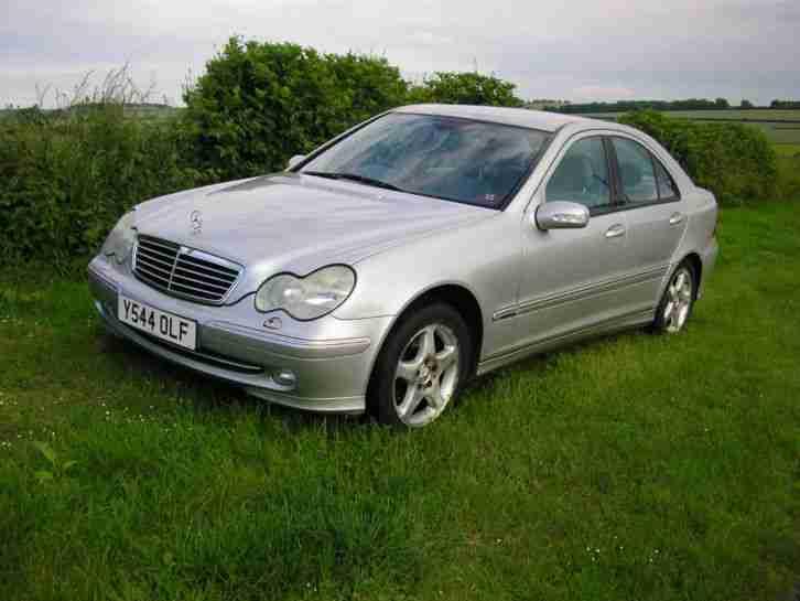 2001 mercedes c180 avantgarde auto silver car for sale. Black Bedroom Furniture Sets. Home Design Ideas