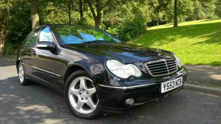 2001 mercedes c270 cdi avantgarde auto black car for sale. Black Bedroom Furniture Sets. Home Design Ideas