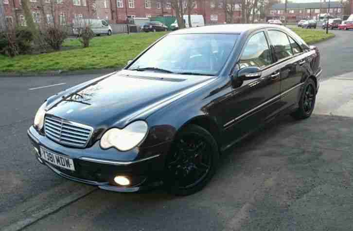 2001 mercedes c270 cdi elegance black car for sale. Black Bedroom Furniture Sets. Home Design Ideas