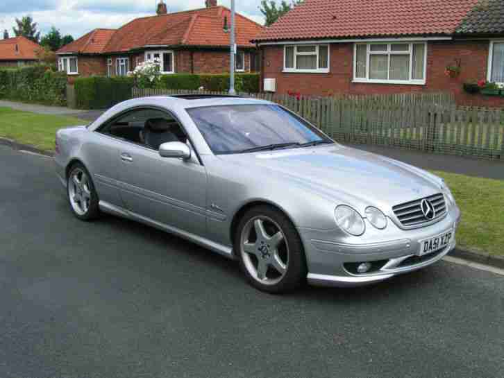 MERCEDES CL500. Mercedes-Benz car from United Kingdom