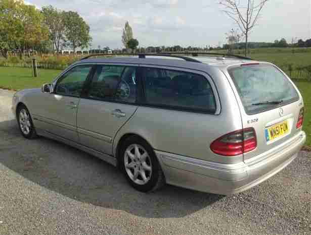 2001 MERCEDES E320 CDI AVANTGARDE 7 SEATER
