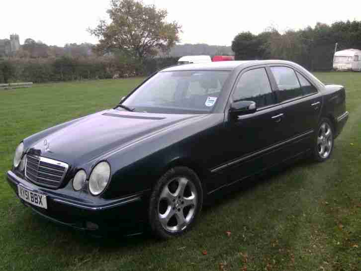 2001 mercedes e320 cdi avantgarde auto black car for sale for 2001 mercedes benz e320 for sale