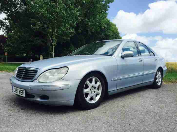 2001 mercedes s320 auto spares repairs export car for sale for Mercedes benz s320 price
