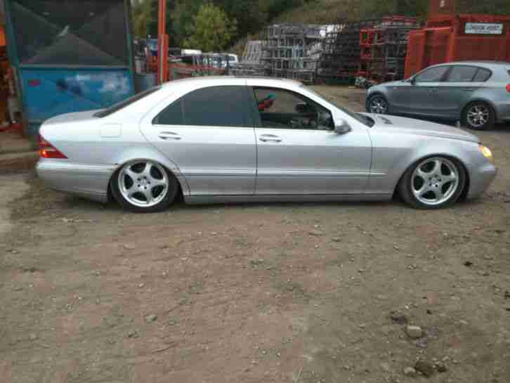 2001 mercedes s320 cdi auto silver breaking for parts car for sale. Black Bedroom Furniture Sets. Home Design Ideas
