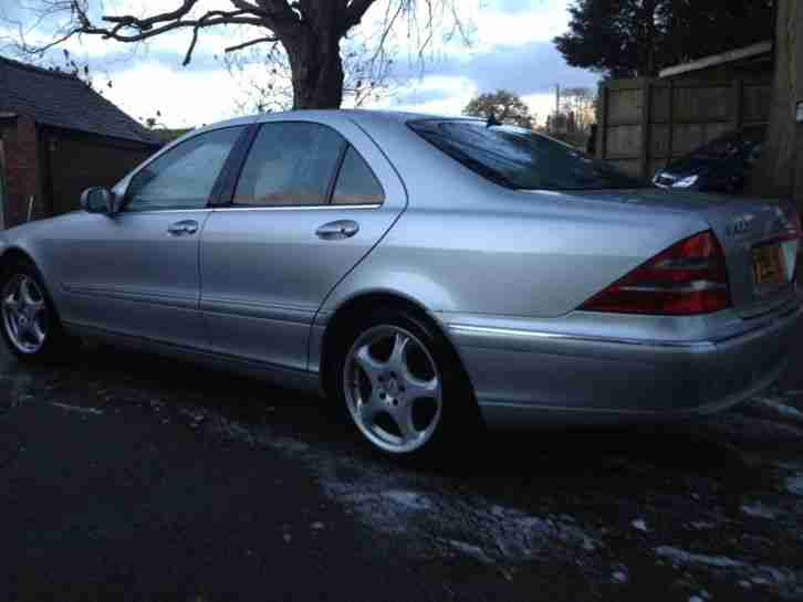 "2001 MERCEDES S500 LIMOUSINE AUTO LOW MILES ""SPARES OR REPAIRS"" NO RESERVE"