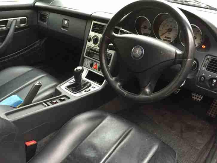 2001 mercedes slk 230 kompressor silver fsh car for sale. Black Bedroom Furniture Sets. Home Design Ideas