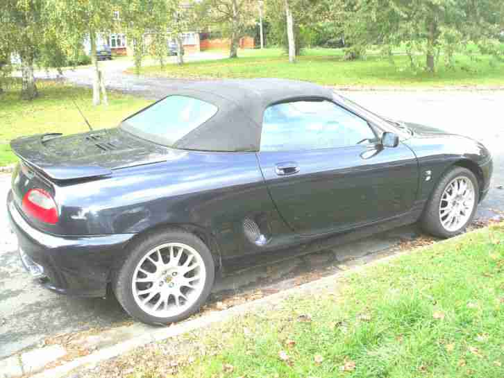 2001 MG MGF FREESTYLE STEPSPEED GREY