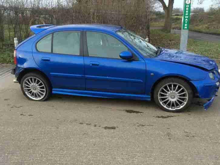 MG 2001 ZR 160 TROPHY BLUE. car for sale