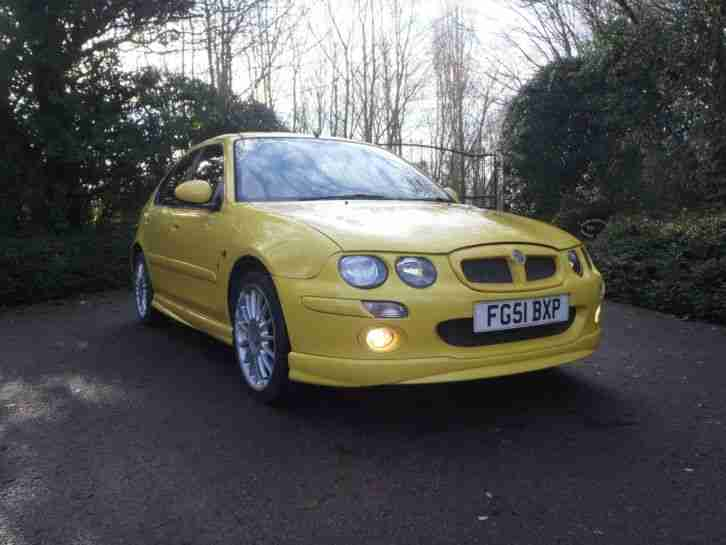 2001 MG ZR RARE 160BHP EX SHOW CAR FULL MOT SH LOOKED AFTER 99P START NO RESERVE