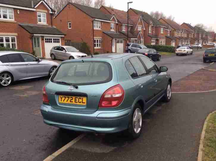 2001 NISSAN ALMERA ACTIV GREY - ONLY 20,000 MILES WITH FSH!!