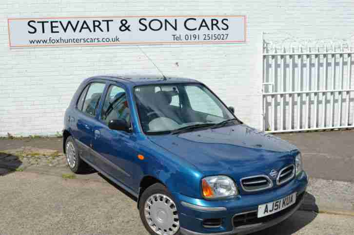2001 MICRA 1.4 SE VERY LOW MILEAGE