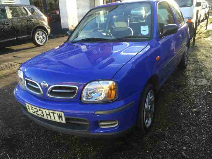 2001 NISSAN MICRA VIBE BLUE