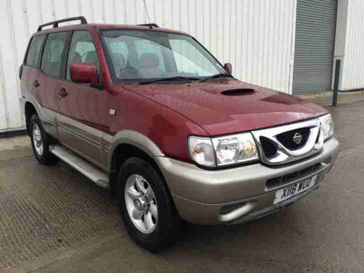 nissan 2001 terrano ii 2 7 tdi se 5dr car for sale. Black Bedroom Furniture Sets. Home Design Ideas