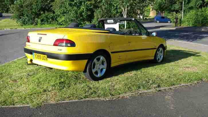 2001 Peugeot 306 cabriolet roadster in very good condition