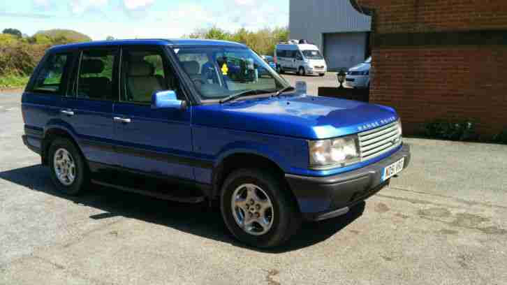 2001 RANGE ROVER P38 2.5 DT BLUE 4X4 125K MILES GREAT CONDITION AIR SUSPENSION