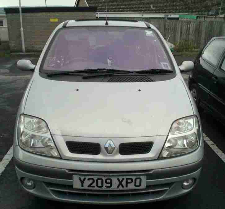 Renault 2001 MEGANE SCENIC DYNAMIQUE+ SILVER Spares Or