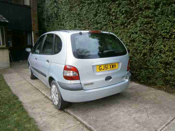 2001 RENAULT MEGANE SCENIC EXP+ DCI SILVER