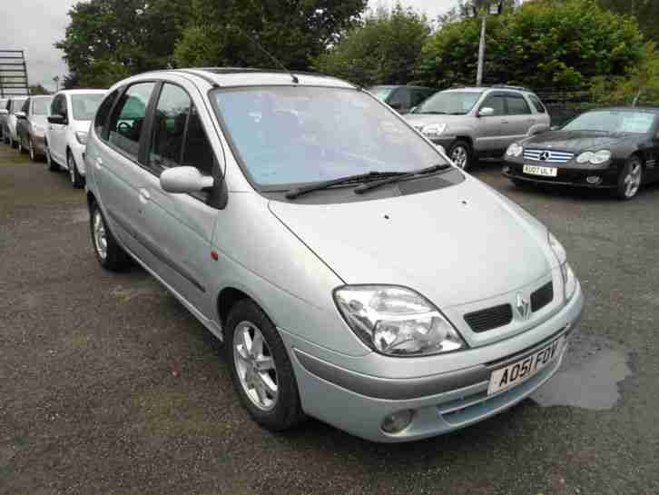 2001 RENAULT MEGANE SCENIC MONACO SILVER - CHEAP BARGAIN P/X TO CLEAR