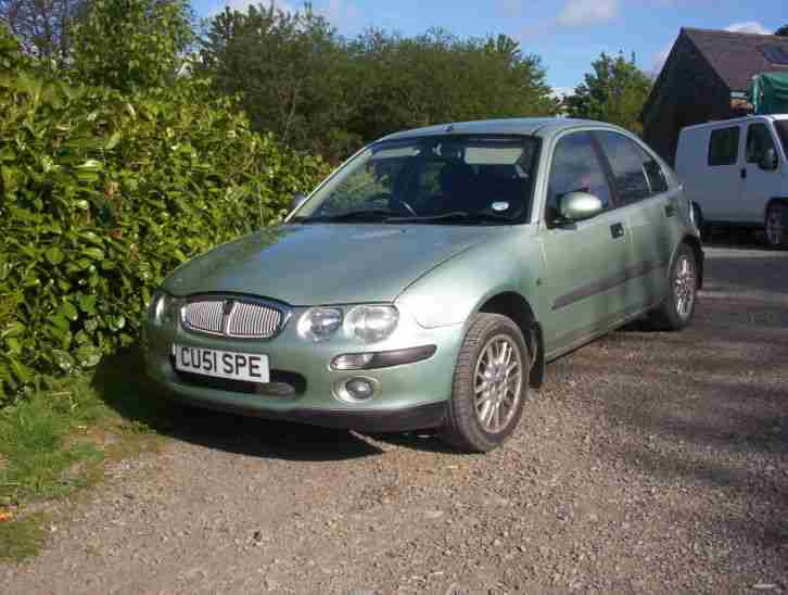 2001 ROVER 25 IMPRESSION S GREEN