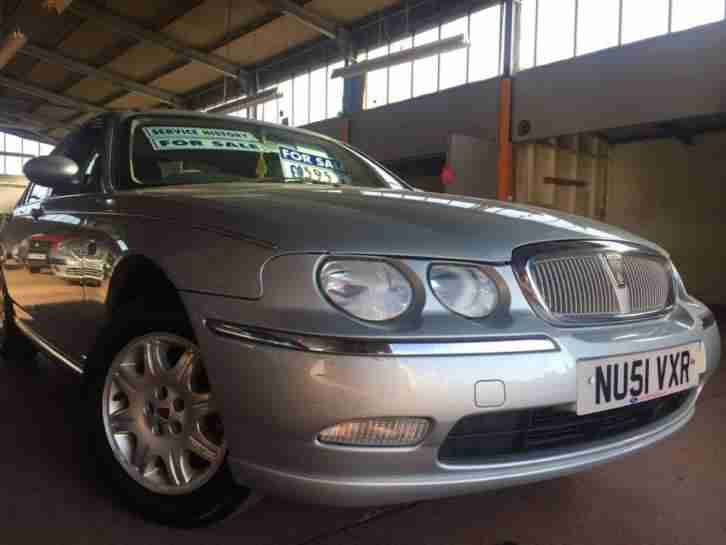 2001 ROVER 75 1.8 CLUB SILVER P X TO CLEAR